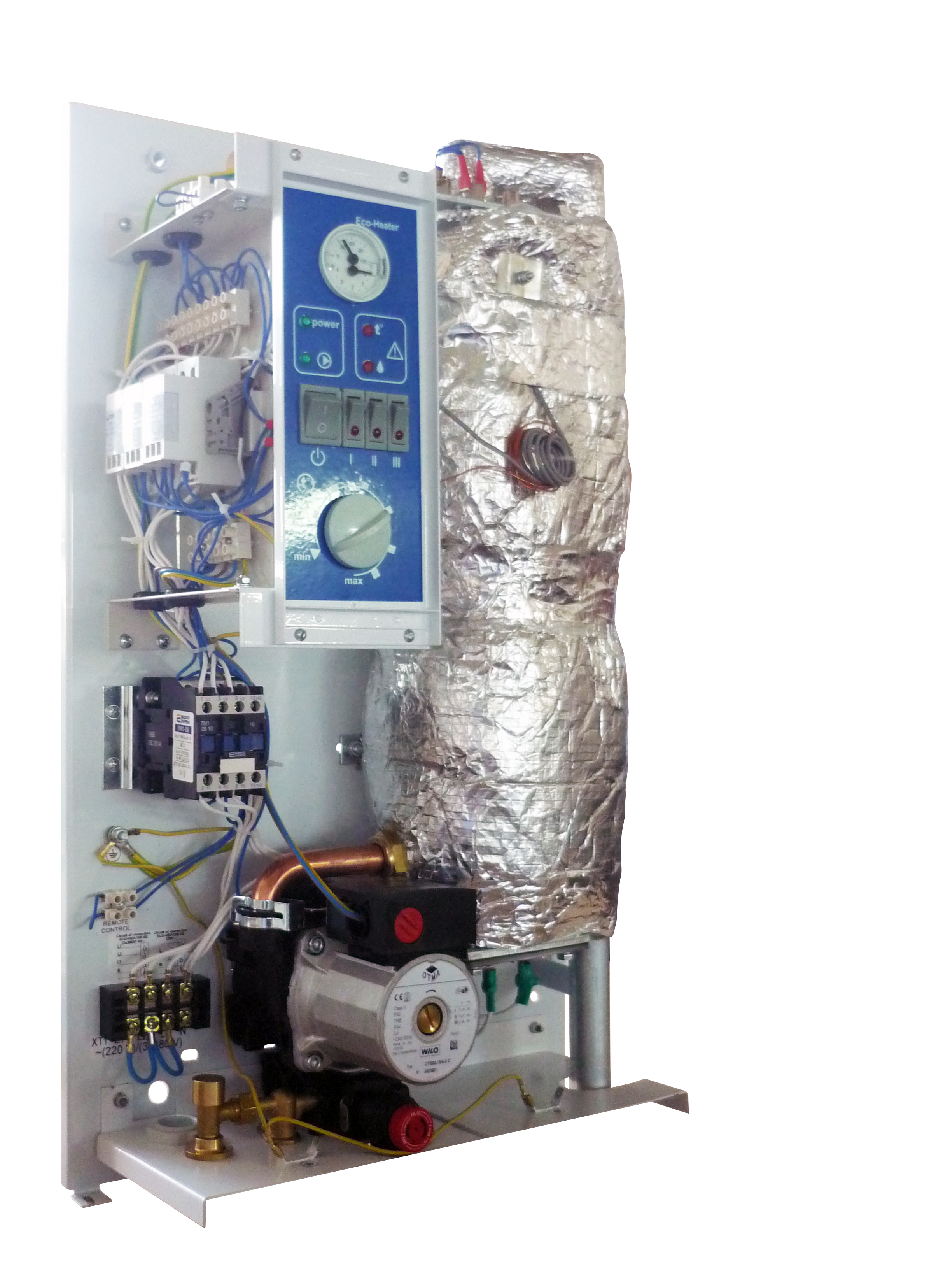 фото: Электрический котел Leberg - преимущества и критерии выбора